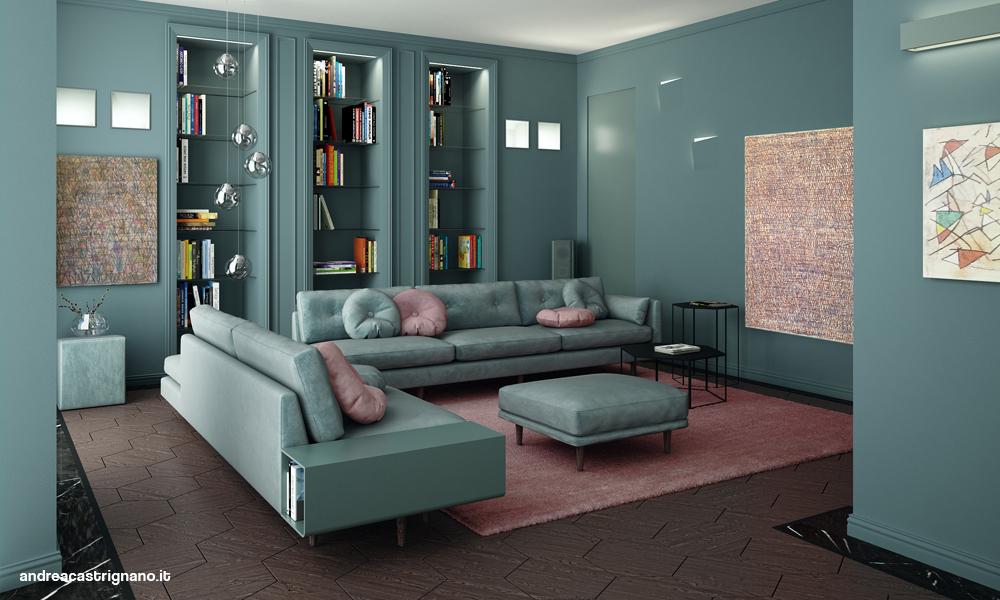 Una casa sartoriale andrea castrignano blog for Andrea castrignano colori pareti
