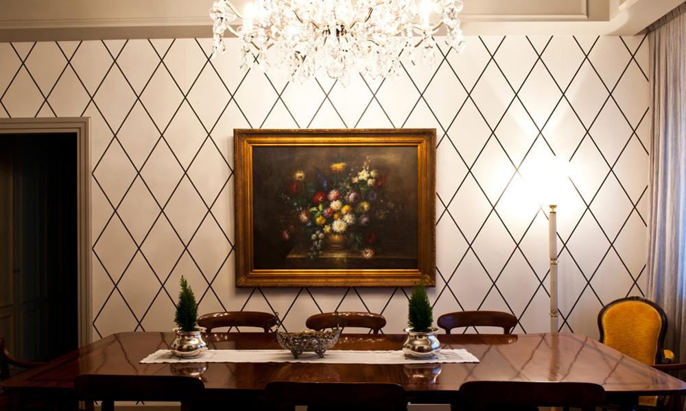 Pareti Bianche E Oro : British style andrea castrignano