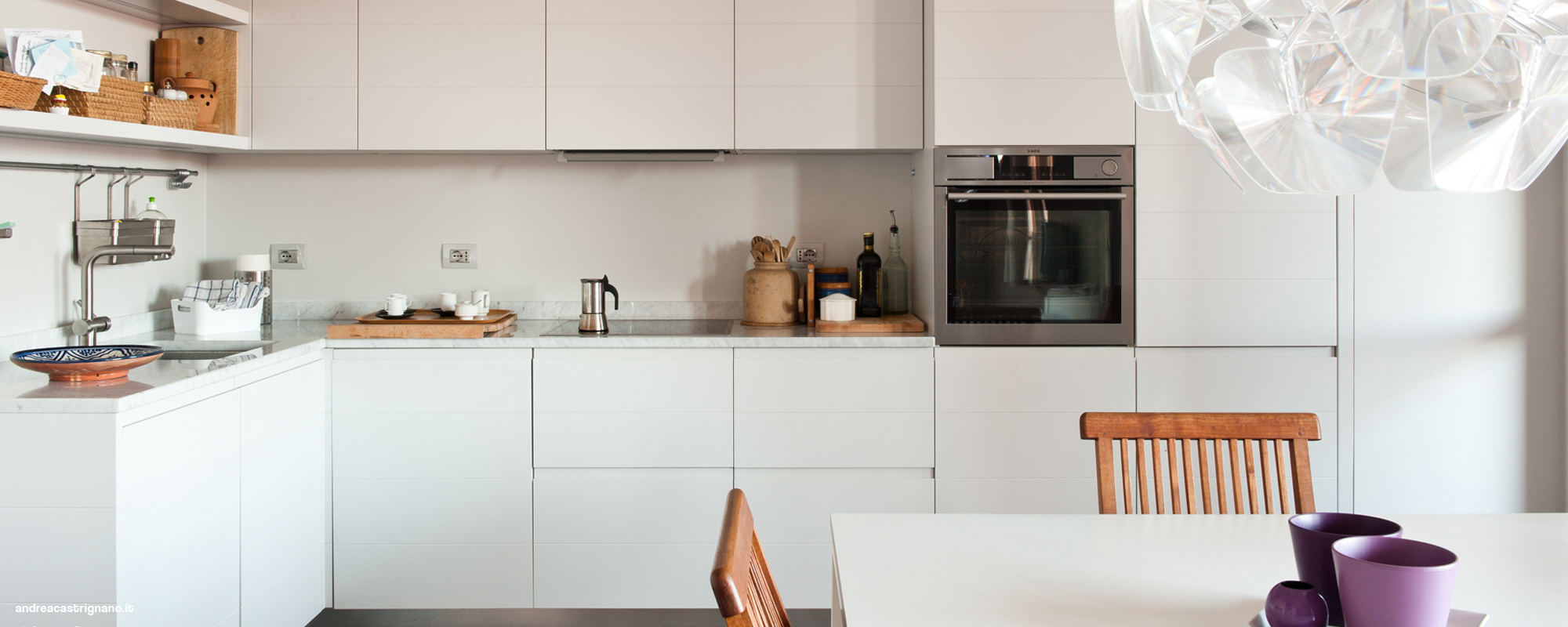 Banquette idee rangement - Cucine in piccoli spazi ...