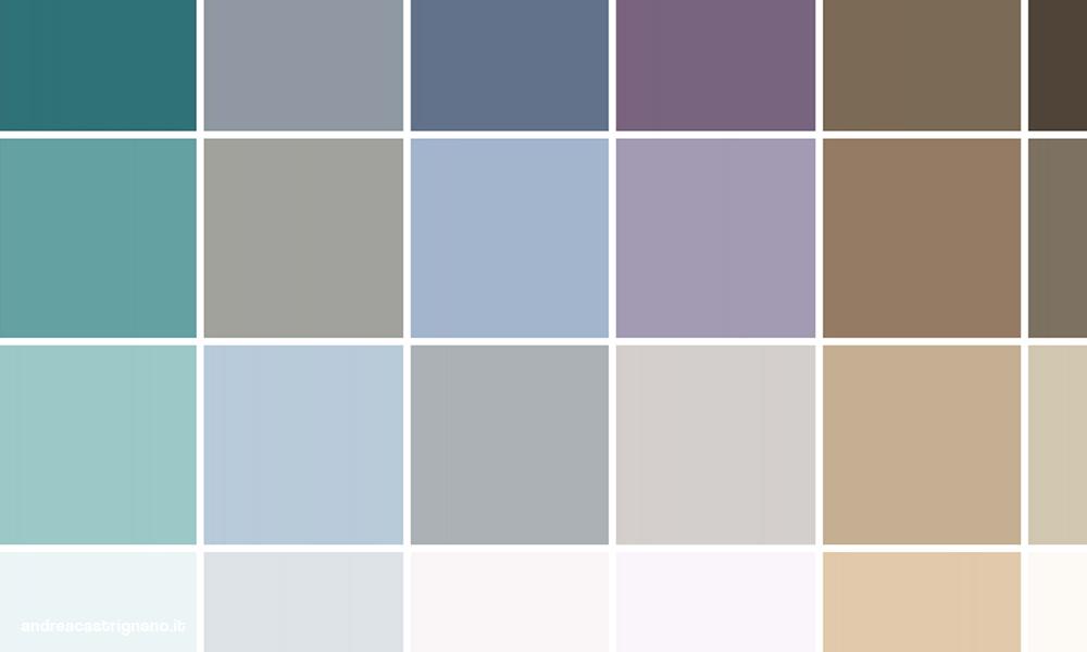 I colori di andrea andrea castrignano - Colori x interno casa ...