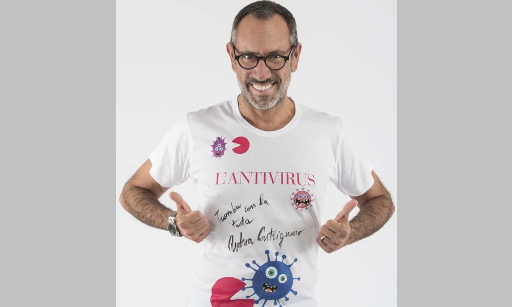 maglietta autografata da Andrea Castrignano