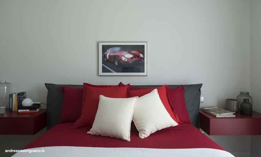 camera per ragazzo Ferrari