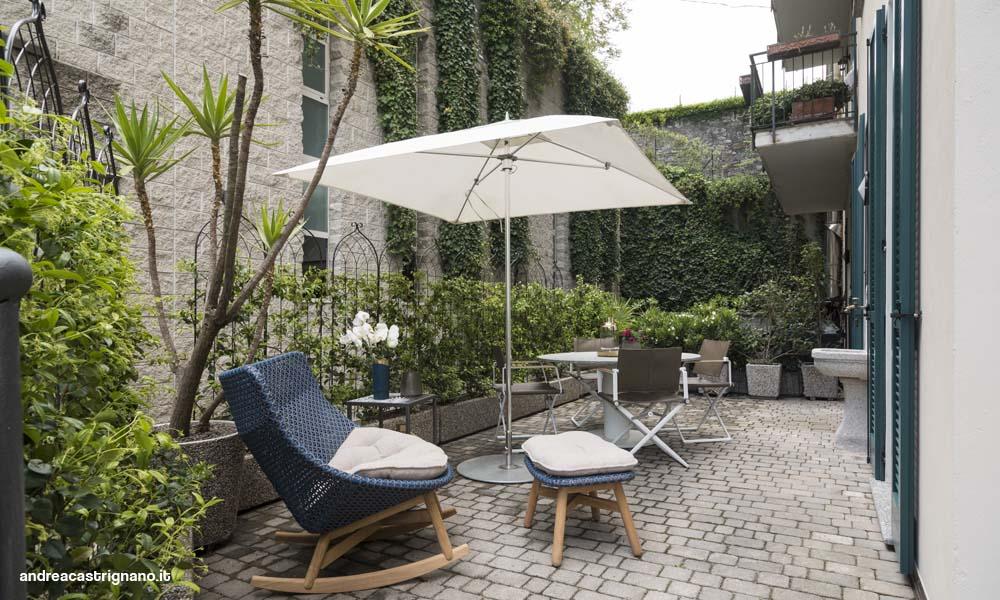 Casa con giardino a Como