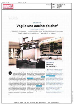 Donna Moderna - FEBBRAIO 2019 - Andrea Castrignano