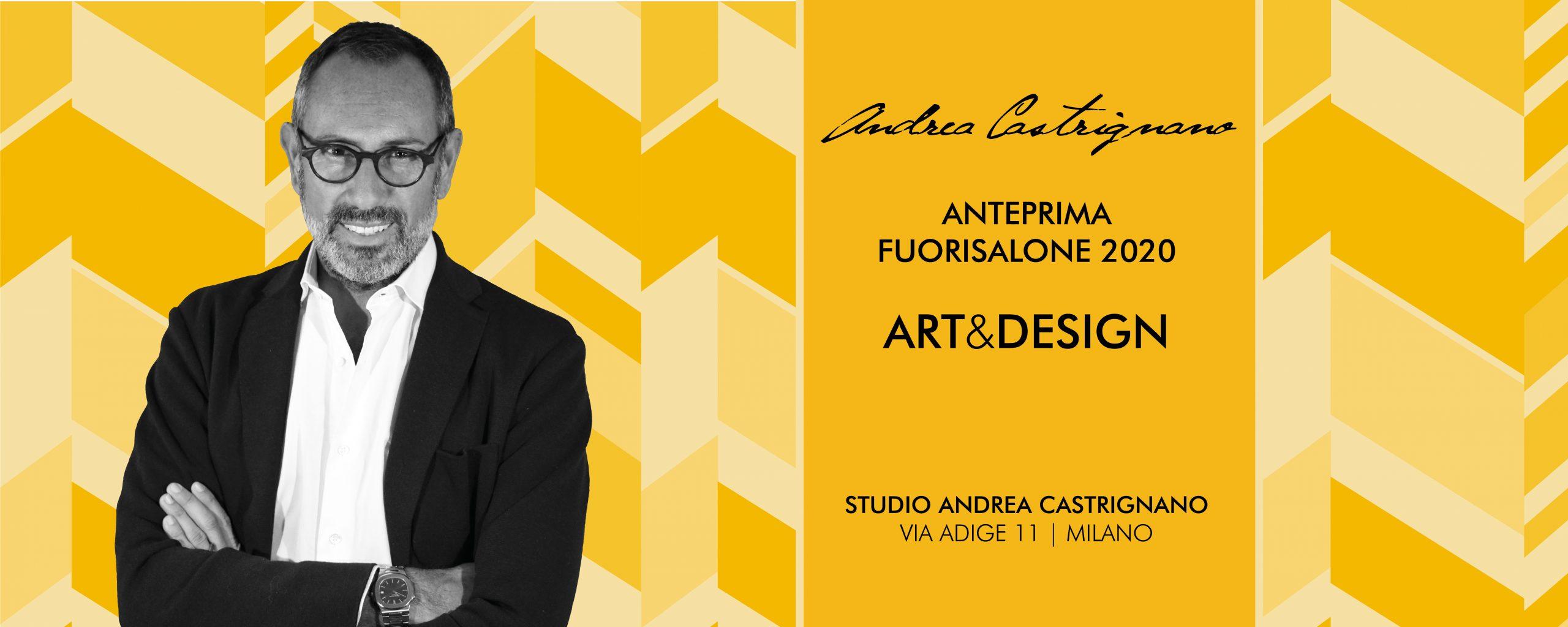 Art&Design Fuorisalone 2020 Andrea Castrignano_header