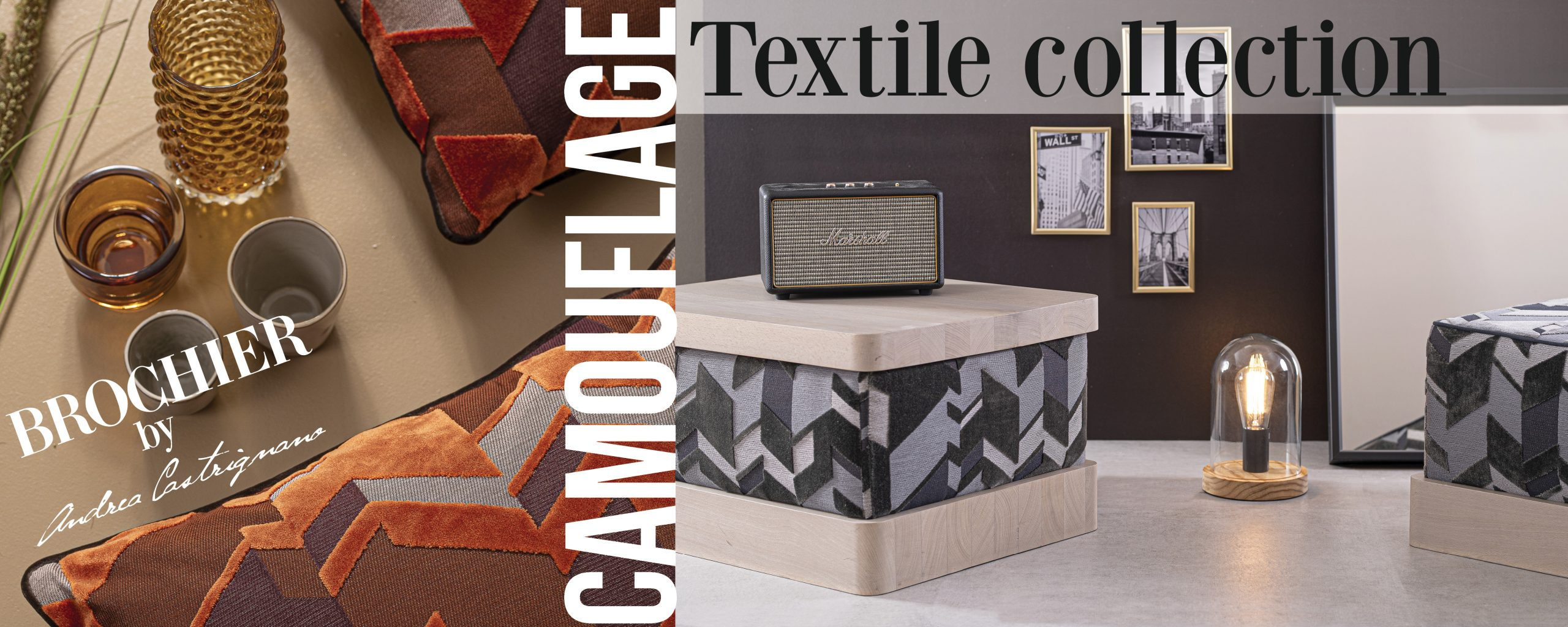 Camouflage Textile Collection by Andrea Castrignano per Brochier_Img