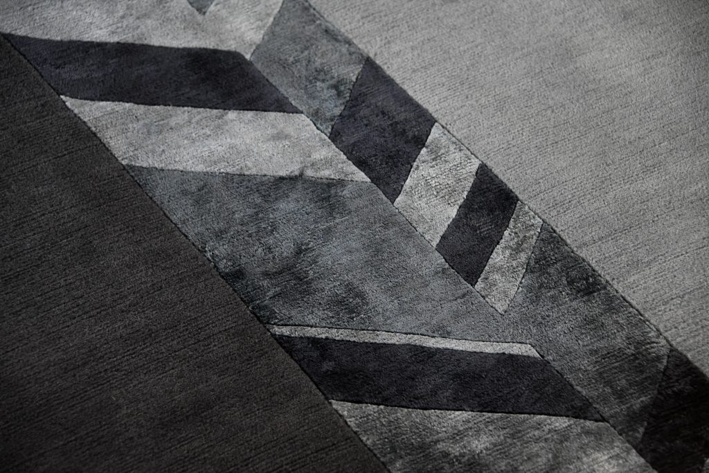 Andrea Castrignano Rugs Collection_Camouflage geometrico